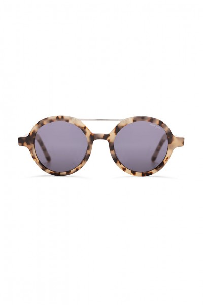 Komono - The Vivien Sunglasses - Ivory Demi