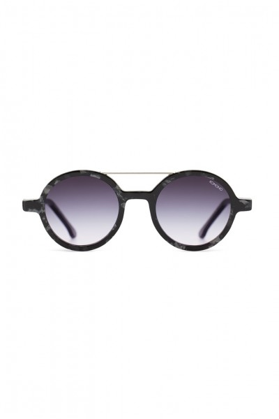 Komono - The Vivien Sunglasses - Black Marble