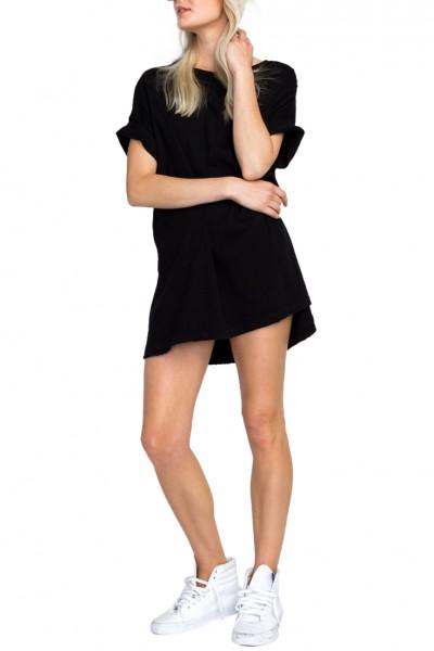 Wildfox - Big Hair Big Dreams T-Shirt Dress - Clean Black