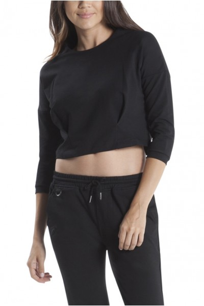 Publish Brand - Bev Cropped Top - Black