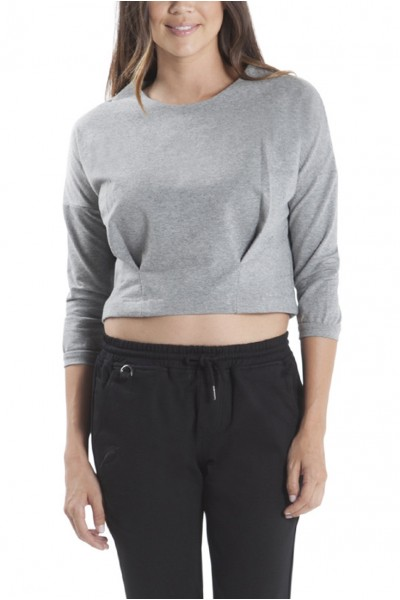 Publish Brand - Bev Cropped Top - Heather