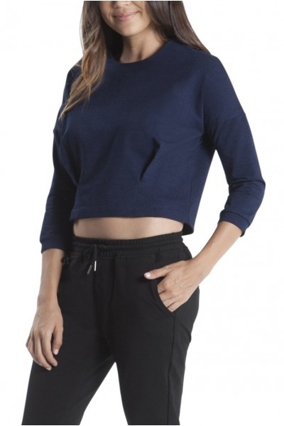 Publish Brand - Bev Cropped Top - Indigo