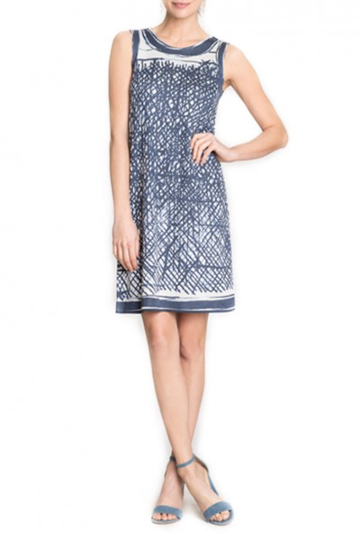 Nic + Zoe - Blue Crush Dress - Multi