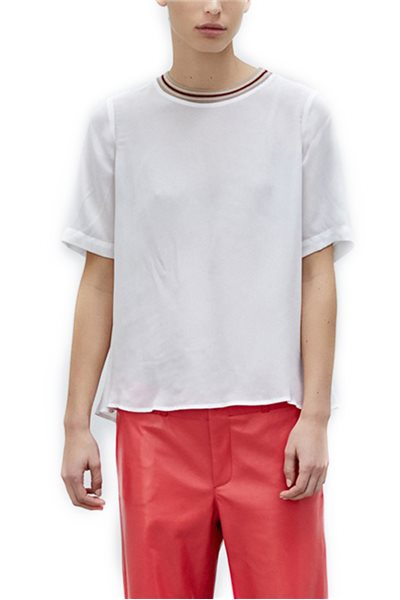 Sack's - Calla Solid T-Shirt - White