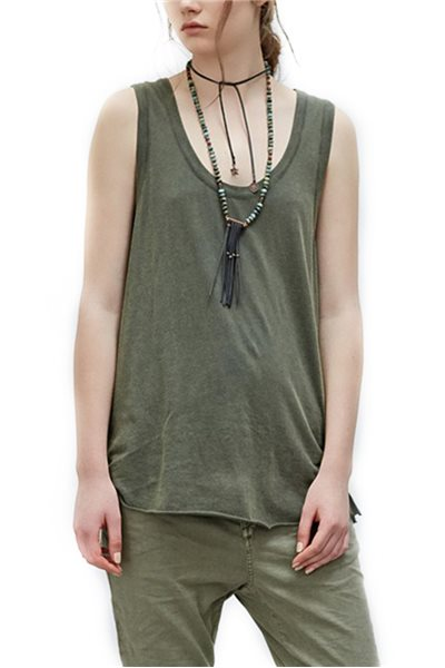 Sack's - Hlina Sleeveless Top