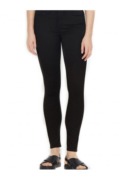 Waven - Women's Asa Mid-Rise Jeans - True Black