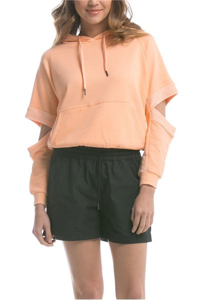 Publish Brand - Women's Lucia Hooded Sweater - Cinder