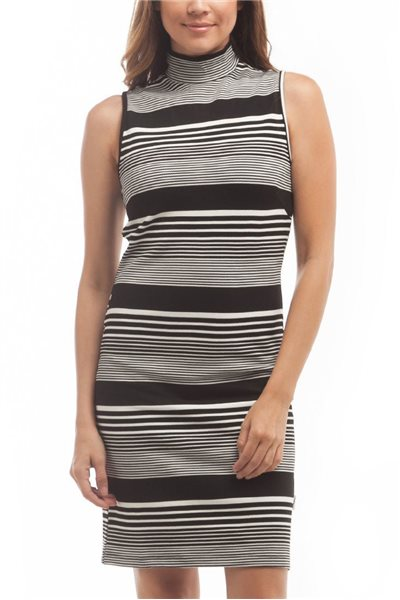 Publish Brand - Women's Kerry Stripe Dress - Black
