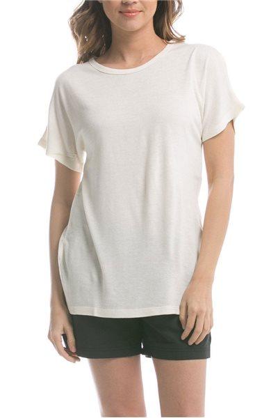 Publish Brand - Women's Melissa Knit T-Shirt - Natural
