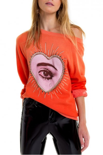 Wildfox - Relic Sommers Sweater - Inferno Red