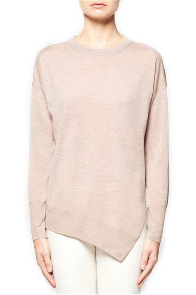 Brochu Walker - Hallin Asymmetrical Pullover - Kestrel Melange
