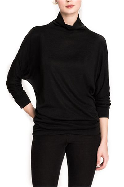 Nic + Zoe - Every occasion Mock up Top - Black Onyx