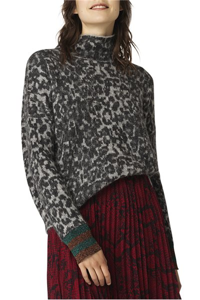 Malene Birger - Bingoe Sweater - Dark grey Mel