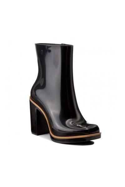 Melissa - Classic Boot - Black & Beige