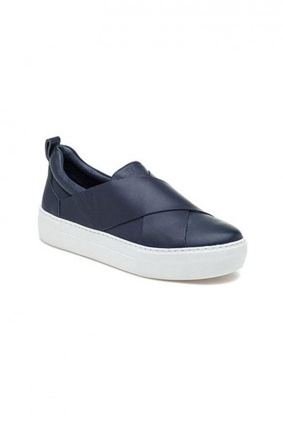 J/Slides - Alec - Navy Leather