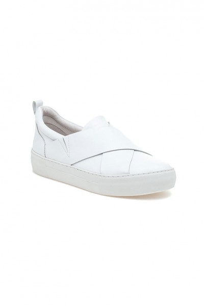 J/Slides - Alec - White Leather