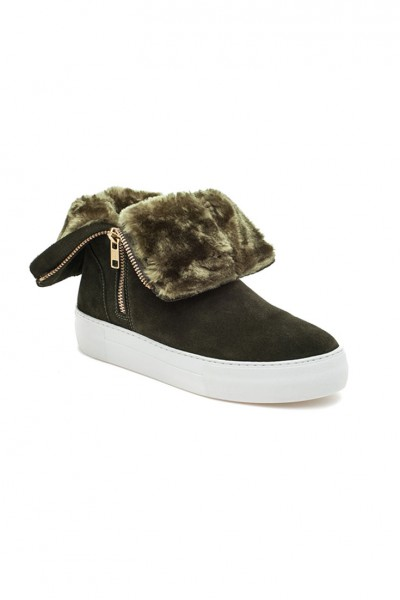 J/Slides - Allie - Khaki Suede