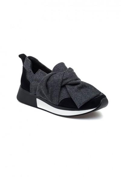 J/Slides - Kim - Black Fabric