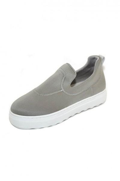J/Slides - Purl - Grey Lycra