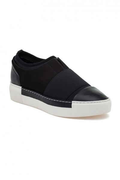 J/Slides - Voila - Black Leather