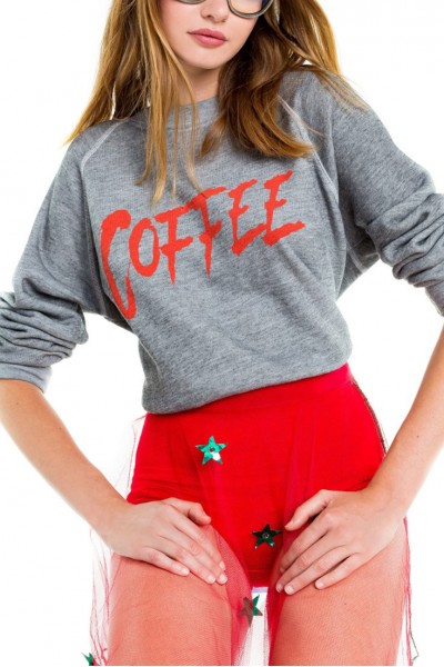 Wildfox - Coffee Sommers Sweater - Heather