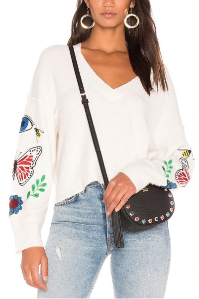 Wildfox - Shrine Living Sweater - Vintage Lace
