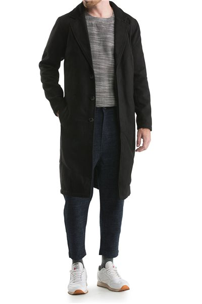 Publish Brand - Men's London Coat - Black