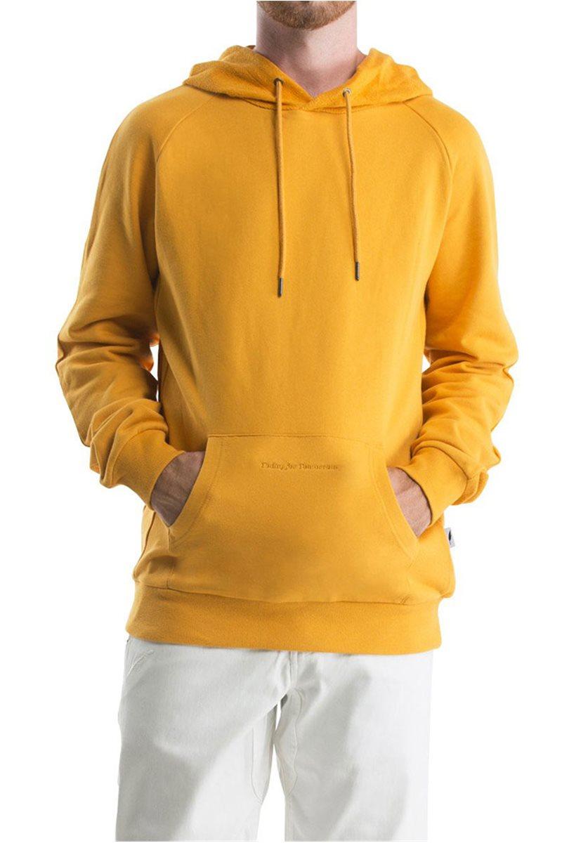 Brand - Men's Bowen Hooded Pullover - Mustard