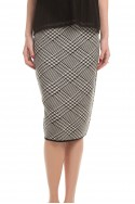 Trina Turk - Robertson Skirt - Black/Whitewash