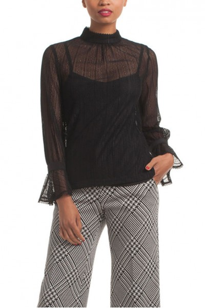 Trina Turk - Cicero Top - Black