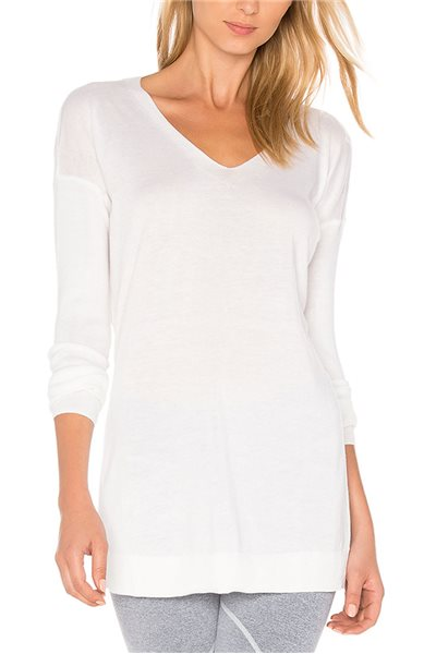 Vimmia - Shavasana Reversible Sweater - White