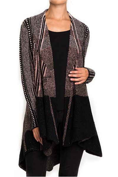 Nic + Zoe - Blazing Lines Jacket - Multi