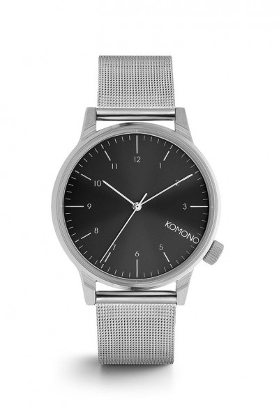 Komono - Men's Winston Royale - Silver/Black