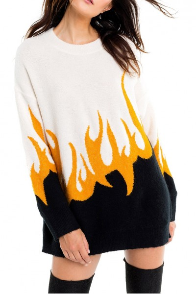 Wildfox - Fired Up Hex Sweater - Multi