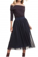 Trina Turk - Floris Skirt - Navy