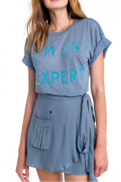 Wildfox - I'm An Expert Sonic Tee - Vision Blue