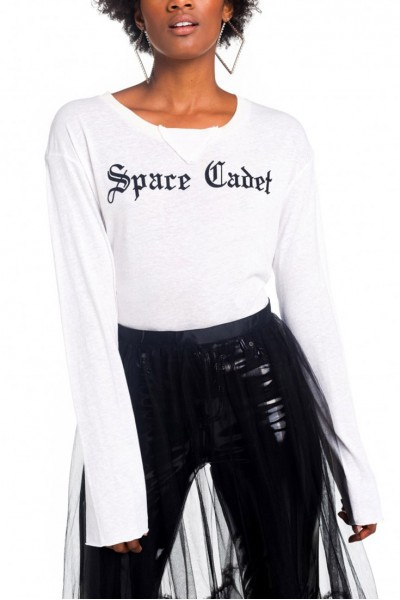 Wildfox - Space Cadet Francois Tee - Vintage Lace