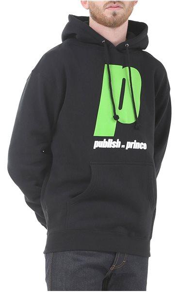 Publish Brand - Versus P Hoodie Pullover - Black