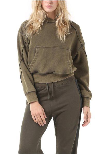 Publish Brand - Kim Women's Hoodie Pullover - Vintage - Olive