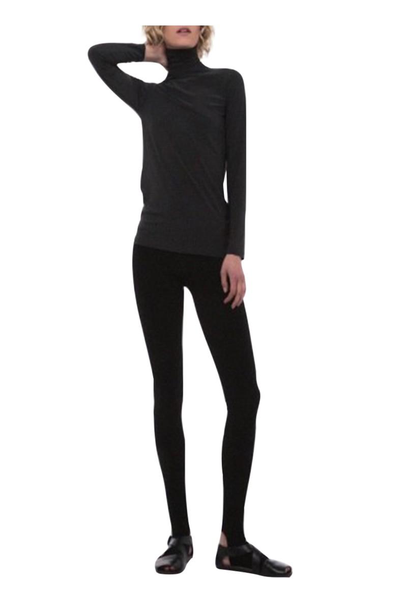 Norma kamali leggings with footie black - Norma kamali costumi da bagno ...