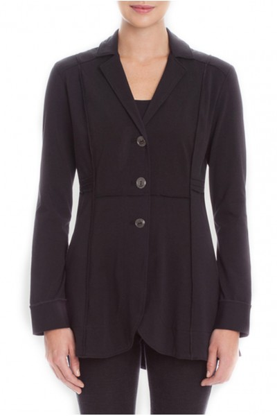 Nic + Zoe - Seamed Riding Jacket - Black