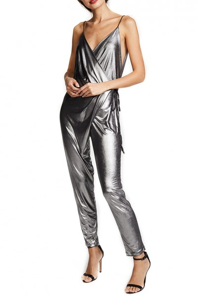 Ronny Kobo - Margalet Jumpsuit - Silver