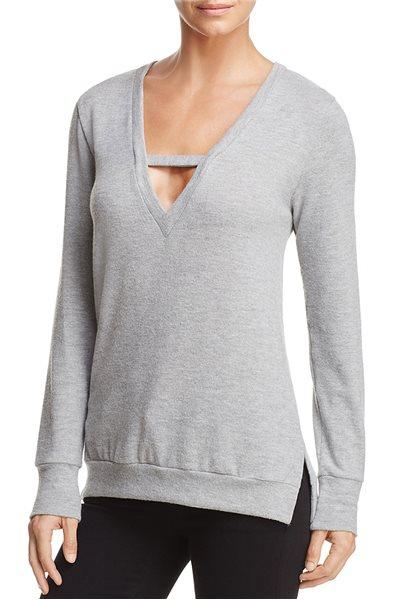 LNA - Vetica Sweater - Heather Grey