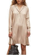 Sack's - Benita  A-Line Dress - Sand