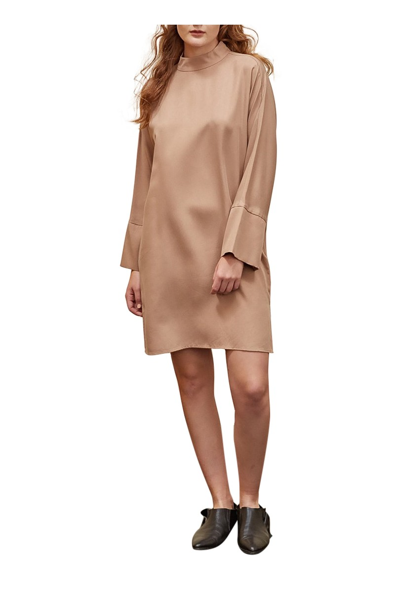 Sack's - Jenna Turtleneck Dress - Sand
