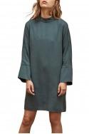 Sack's - Jenna Turtleneck Dress - Dark Green