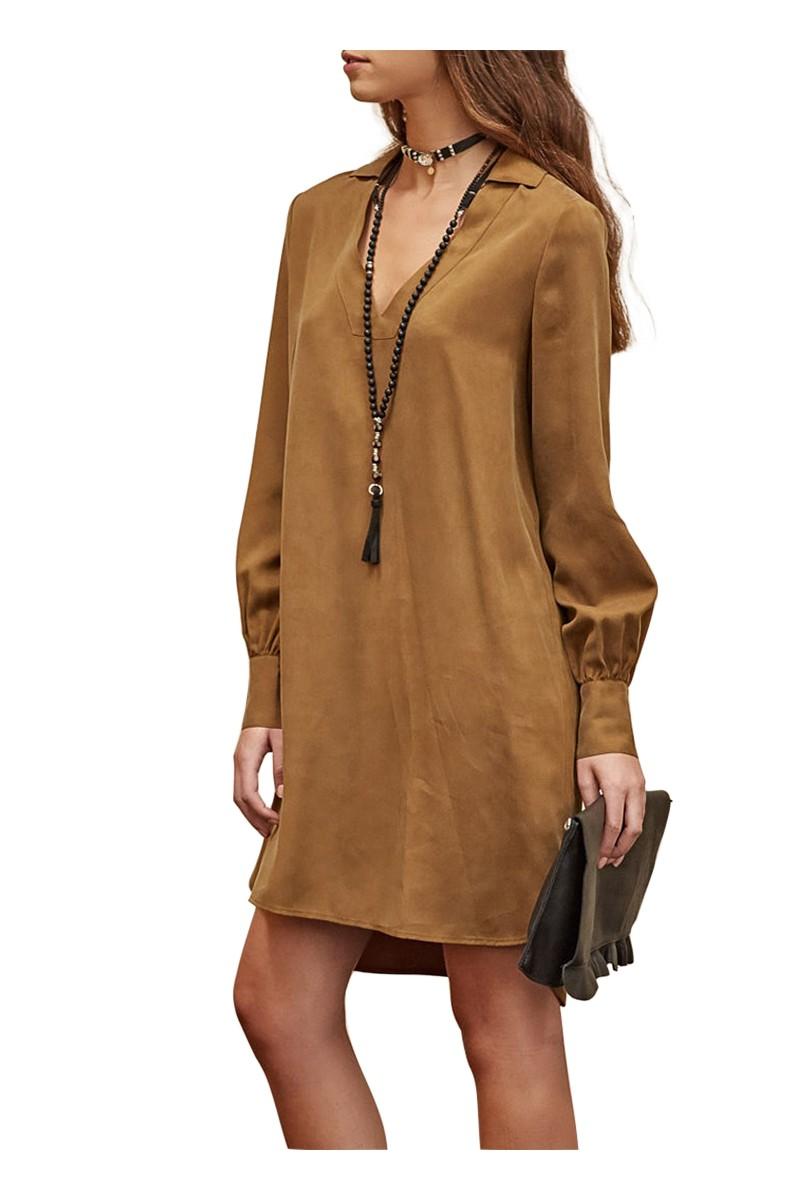 Sack's - Rylee Solid Mini Dress