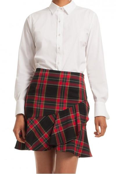Trina Turk - Women's Classic Shirt Devista Top - White
