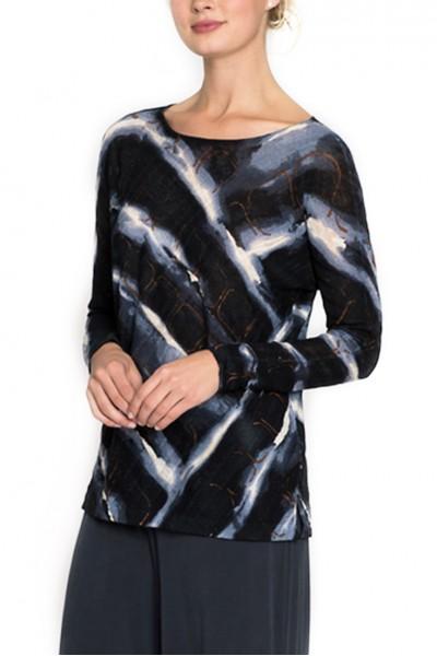 Nic + Zoe - Women's Knit Wave Top - Multi