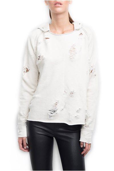 Generation Love - Women's Sierra Hooded Sweatshirt - White